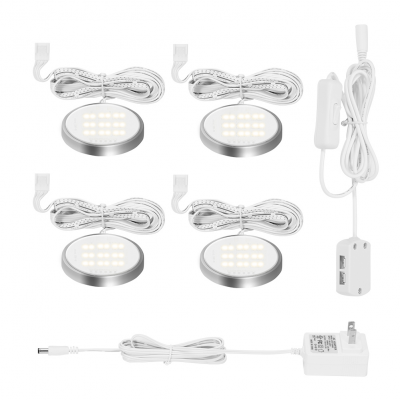 Under Cabinet Light Kit 18LEDs Puck Lamp