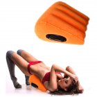 Sex Pillow Wedge Positioning Cushion Triangle Sex Pillow Misstu Sex Furniture Inflatable Ramp Orange