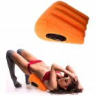 Sex Toys Pillow Wedge Positioning Cushion Triangle Sex Pillow Inflatable Ramp for Couples Orange
