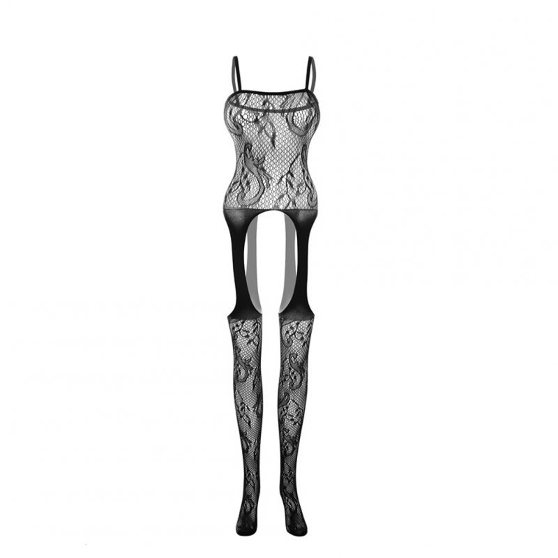 Sexy Costumes Bodysuit Stockings Sex Erotic Crotch Teddy Lingerie Feminine Porn A_One size