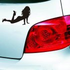 Sexy Girls Car Sticker Beauty Decor Reflective Decals Decoration