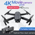 Sg107 Folding Drone 4K HD Aerial Optical Flow Remote Control Plane Quadcopter Flying Across Mini Drone Single camera without storage bag