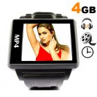 Shopping for a 4GB digital media watch   Well  if you need MP3   MP4   MP5 watches then you have come to the right place   Chinavasion  where factory direct pri