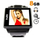 Shopping for a 8GB digital media watch   Well  if you need MP3   MP4   MP5 watches then you have come to the right place   Chinavasion  where factory direct pri