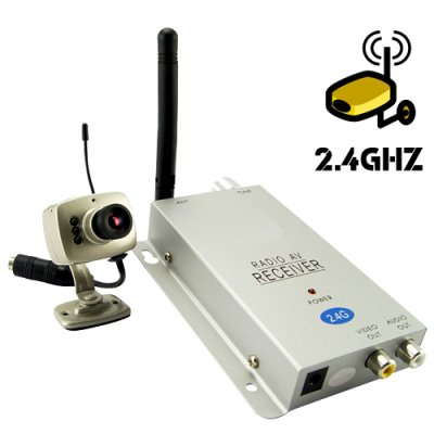 Wireless camera and Reciever
