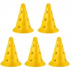 Sign Cones Football Multi-gauge Marker Road Sign Road Block Training Cone yellow