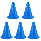Sign Cones Football Multi-gauge Marker Road Sign Road Block Training Cone blue