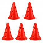 Sign Cones Football Multi gauge Marker Road Sign Road Block Training Cone red