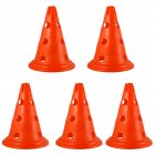 Sign Cones Football Multi-gauge Marker Road Sign Road Block Training Cone Orange