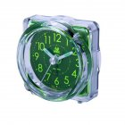 Silent Noctilucent Alarm Clock for Travel Bedside Study Room BA
