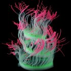 Silicone Artificial Sea Anemone Aquarium Coral Plant Decoration Fish Bowl Ornament 50CM_Pink
