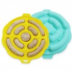 Silicone Hot Dog Make Mould DIY Sausage Making Mold Baking Tools Kitchen Props Lemon yellow