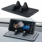 Silicone Pad Non-slip Dash Mat Car Mount Holder Cradle Dock for Phone Universal  As shown