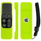 Silicone Remote Controller Case Protective Cover Skin for Apple TV 4th Gen Siri Remote Control Green
