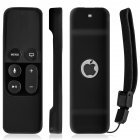 Silicone Remote Controller Case Protective Cover Skin for Apple TV 4th Gen Siri Remote Control Black