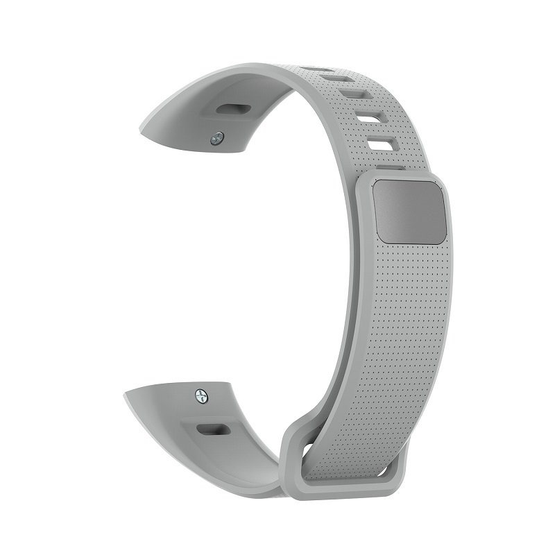 Silicone Wrist Strap For Huawei Band 2 Pro Band2 ERS-B19 ERS-B29 Sports Bracelet Straps Wristband gray