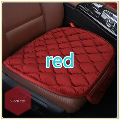 Simple Comfortable Car Front Cushion Non-slip Breathable Car Cushion red