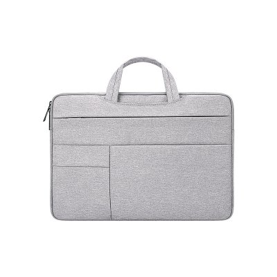 Simple Laptop Case Bag for Macbook Air 11.6 inches, 12.5 inches, 13.3 inches, 14.1 inches Notebook Handbag  grey_12.5 inches