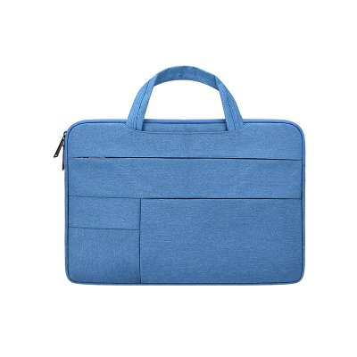 Simple Laptop Case Bag for Macbook Air 11.6 inches, 12.5 inches, 13.3 inches, 14.1 inches Notebook Handbag  sky blue_12.5 inches