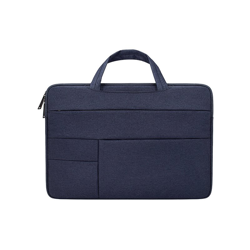 Simple Laptop Case Bag for Macbook Air 11.6 inches, 12.5 inches, 13.3 inches, 14.1 inches Notebook Handbag  Navy_13.3 inches
