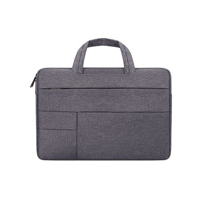 Simple Laptop Case Bag for Macbook Air 11.6 inches, 12.5 inches, 13.3 inches, 14.1 inches Notebook Handbag  Deep gray_13.3 inches