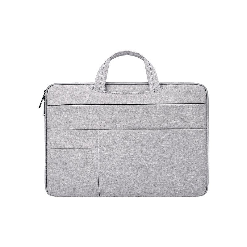 Simple Laptop Case Bag for Macbook Air 11.6 inches, 12.5 inches, 13.3 inches, 14.1 inches Notebook Handbag  grey_13.3 inches