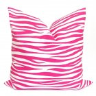 Simple Pink Pattern Printing Pillow Cover for Bed Sofa Supplies