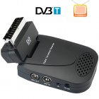 Simple Plug and play Scart DVB T receiver for Europe  Watch Digital TV like never before  in comfort and in style  This hot new gadget comes plug straight to th