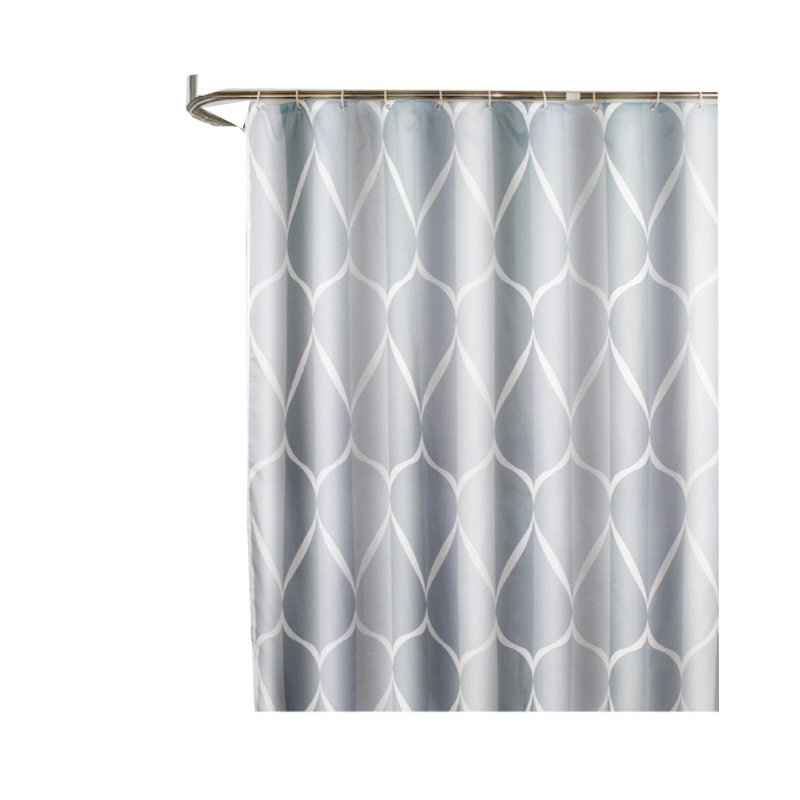 Simple Thicken Waterproof Shower Curtain for Bathroom  180*200 high