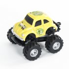 Simulate Car Q Version Alloy Pull-back Buggy 253 Model Car Toy for Boys yellow