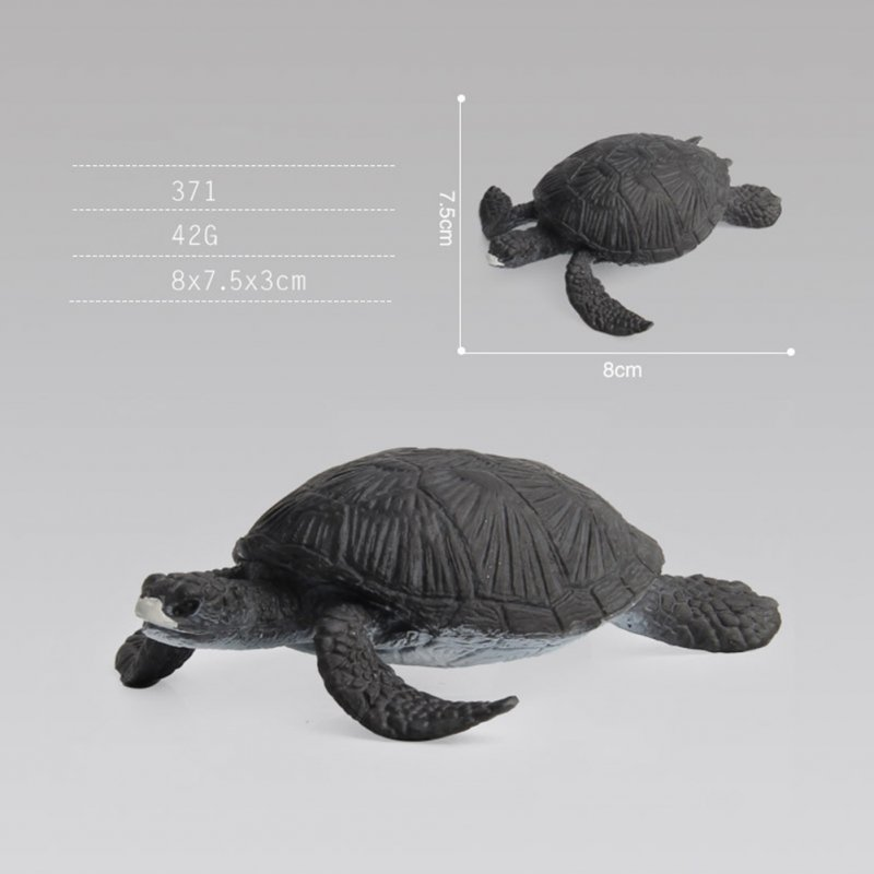 Simulate Chelonian Modeling Toy Sand Table Scene Prop