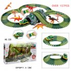 Simulate Dinosaur Car (157PCS)
