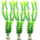 Simulated Water Grass for Fish Bowl Aquarium Landscape Decoration  green