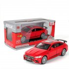 Simulation 1:32 AMG GT63S Children Toy Alloy Sports Car Model with Light Sound and Opening Door red
