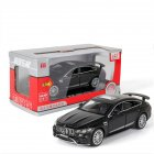 Simulation 1:32 AMG GT63S Children Toy Alloy Sports Car Model with Light Sound and Opening Door black