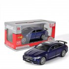 Simulation 1:32 AMG GT63S Children Toy Alloy Sports Car Model with Light Sound and Opening Door blue