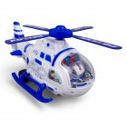 Simulation Toy Aircraft Model Large Electrical Helicopter Early Education Light Music Storage Car Toy As shown