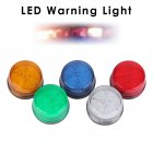 Siren 12V 120mA Alarm Strobe Flashing Light Indicator LED Warning Light Orange