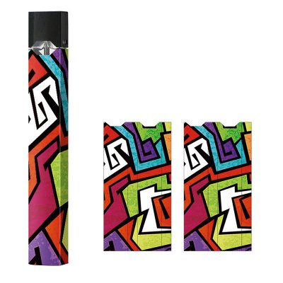 Skin Decal Wrap for JUUL Vape Protective Vinyl Cover Sticker Kit No 3