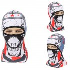Skull Head Magic Turban Outdoor Sports Cycling Mountaineering Ski Headscarf Warm Breathable Mask 8#_One size