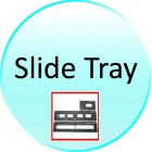 Slide Tray for CVKB G284 35mm Film Scanner with LCD   SD Slot  High Resolution Model