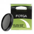Slim Fader Variable ND Filter Adjustable Neutral Density ND2 to ND400 67mm