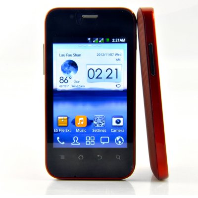 Cheap Android 3.5 Inch Dual SIM Phone - Dex