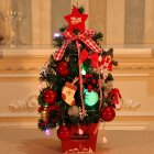 Small Mini Christmas Tree Mall Hotel Counter Christmas Decorations Desktop Ornaments 1#