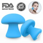 Small Mushroom Massager Multifunctional Vibrator Precision Clitoral Stimulation Sex Toy blue