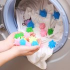 Small Size Starfish Shape Magic Laundry Cleaning Ball for Household Washing Machine 1pc