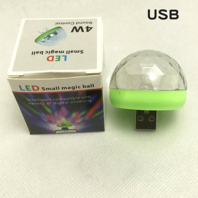 Rechargeable Voice Control Magic Ball Lamp