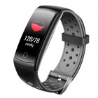 Smart Bracelet Heart Rate Blood Pressure Waterproof Bluetooth Watch Wristband Fitness Tracker  gray