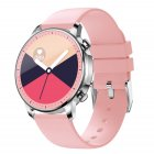 Smart Bracelet IP67 Waterproof Screen heart rate Monitor Pedometer Smart Wristband Sport smart watch Pink