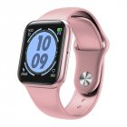 Smart Bracelet Waterproof Heart Rate Sleeping Quality Monitor Step Count Bluetooth Wristwatch Pink